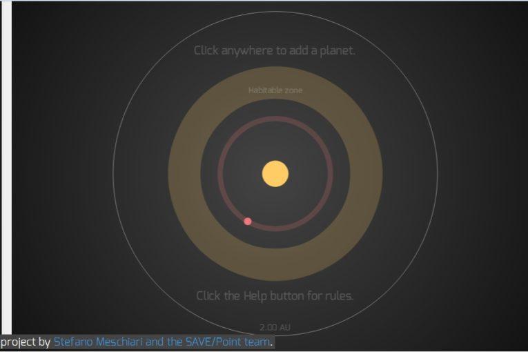 Super Planet Crash: costruiamo il nostro sistema solare